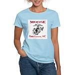 Women's MOOSE Pink T-Shirt