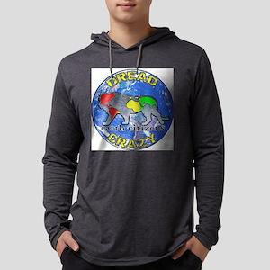 DREAD LOGO4cafe Mens Hooded Shirt