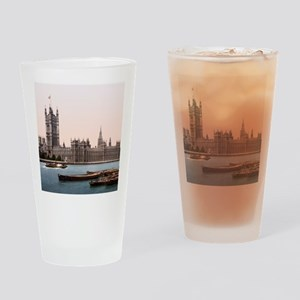 Vintage Houses of Parliament Drinking Glass