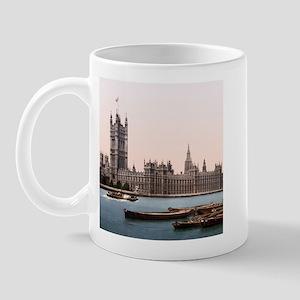 Vintage Houses of Parliament Mug