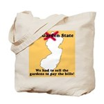 New Jersey Garden State Tote Bag