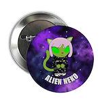 """Alien Neko Space Kimono 2.25"""" Button"""