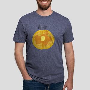 Waffles! Mens Tri-blend T-Shirt