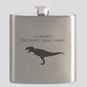 Licensed to Carry Small Arms Flask
