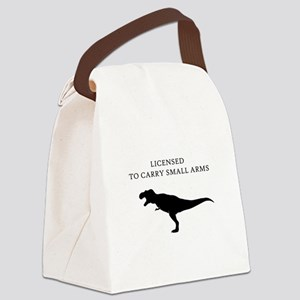 Licensed to Carry Small Arms Canvas Lunch Bag