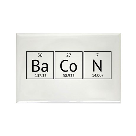 BaCoN Periodic Element Rectangle Magnet (100 pack)