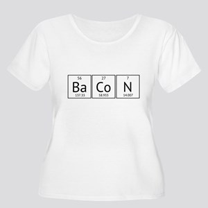 BaCoN Periodic Element Women's Plus Size Scoop Nec