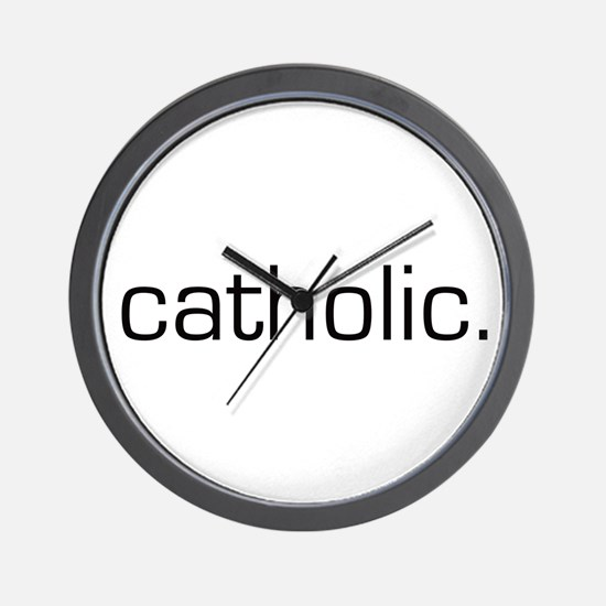 Catholic Wall Clock