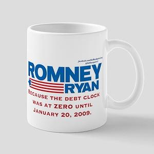 Romney Debt Clock Mug