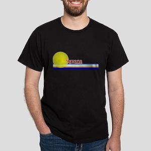 Savana Black T-Shirt