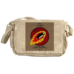 KNOTS Retro Patrol Patch Messenger Bag