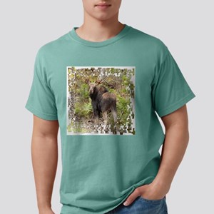 11 X white moose Mens Comfort Colors Shirt
