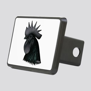 Ayam Ceymani Rooster Rectangular Hitch Cover
