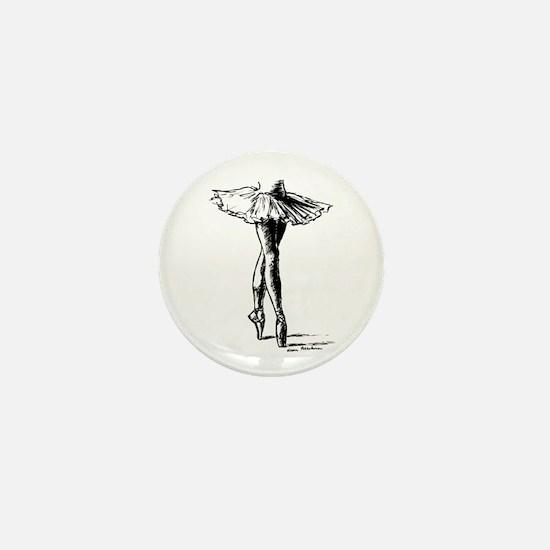 Ballet Mini Button
