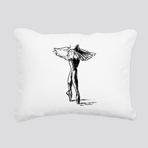 Ballet Rectangular Canvas Pillow