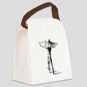 Ballet Canvas Lunch Bag