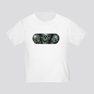Green-Eyed Skulls Toddler T-Shirt