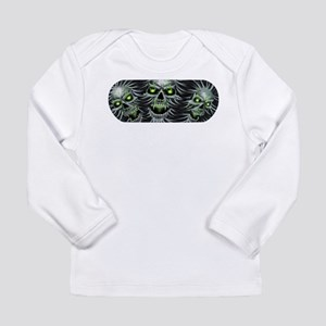 Green-Eyed Skulls Long Sleeve Infant T-Shirt