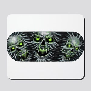 Green-Eyed Skulls Mousepad