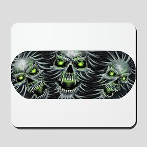 Green-Eyed Skulls Mousepad
