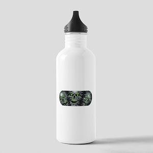 Green-Eyed Skulls Stainless Water Bottle 1.0L