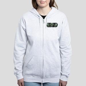 Green-Eyed Skulls Women's Zip Hoodie