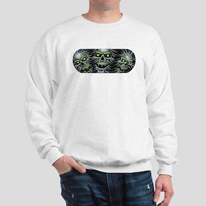 Green-Eyed Skulls Sweatshirt