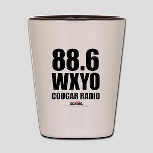 Cougar Radio Shot Glass