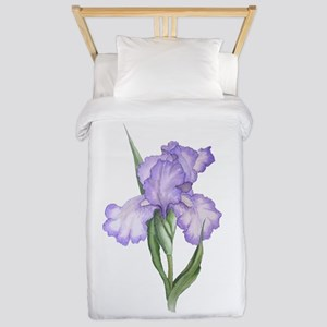 The Purple Iris Twin Duvet