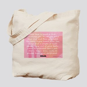 Old School - Hard to Find Tote Bag