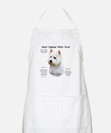 West Highland White Terrier Light Apron
