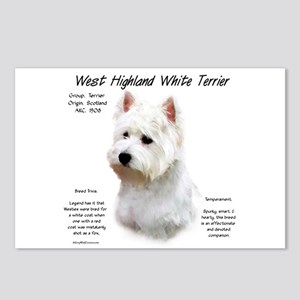 West Highland White Terri Postcards (Package of 8)