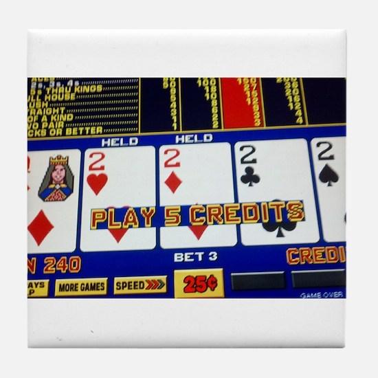 you win Tile Coaster