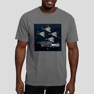 f14 a1 CLOCK 2b Mens Comfort Colors Shirt