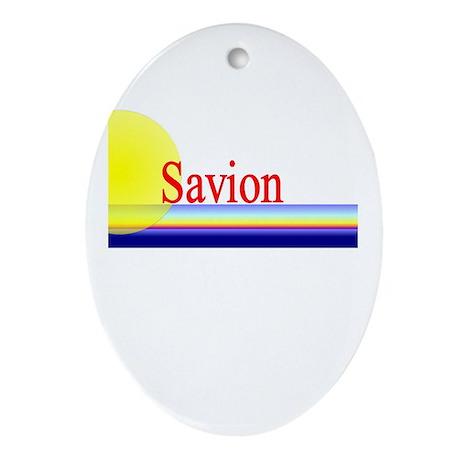 Savion Oval Ornament