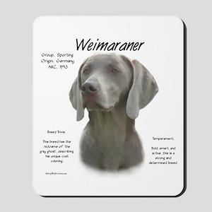 Weimaraner Mousepad