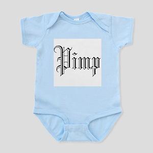 Pimp (2) (Black) Infant Creeper