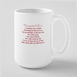 Unrequited Love Large Mug