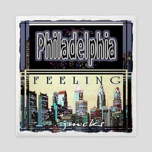 philadelphia city tshirt art illustration Queen Du