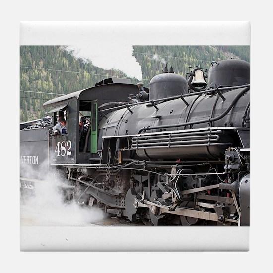 Steam engine: Colorado 3 Tile Coaster