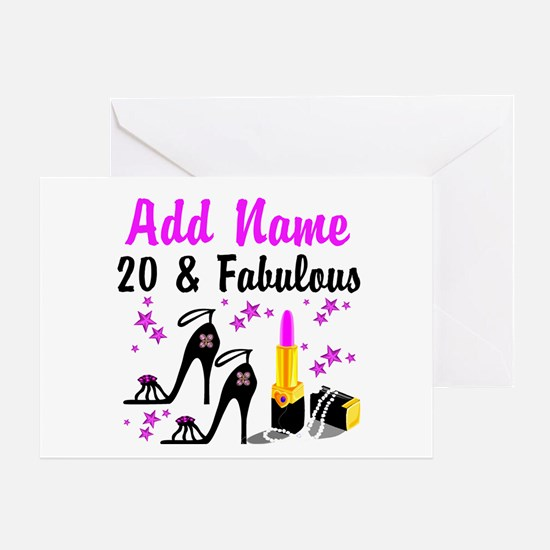 20th birthday 20th birthday greeting cards cafepress happy 20th birthday greeting card bookmarktalkfo Choice Image