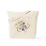 Atom Flowers #19 Tote Bag