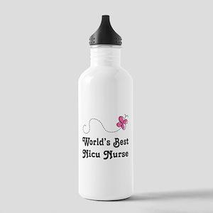 NICU Nurse (Worlds Best) Stainless Water Bottle 1.