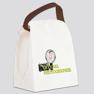 Official Photographer-2 Canvas Lunch Bag