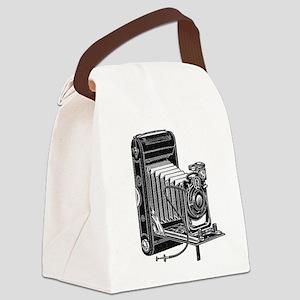vintage camera-3 Canvas Lunch Bag