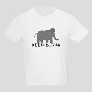 """NEW"" WEEPUBLICAN WITH GREY E Kids T-Shirt"