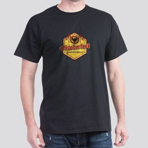 Oktoberfest Pentagon - Beer and Fun Dark T-Shirt