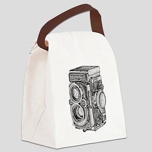 vintage camera-13-3 Canvas Lunch Bag