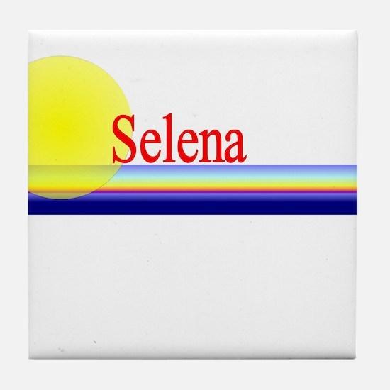 Selena Tile Coaster