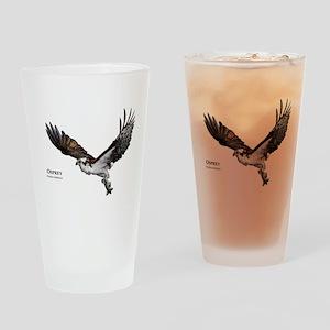 Osprey Drinking Glass